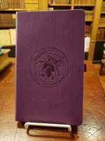Loganberry Purple leather journal