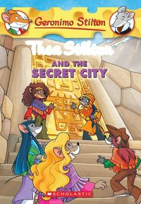 Thea Stilton and the Secret City (Thea Stilton #4)