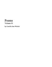 01 Poetry Book, 1: Camillajean.com