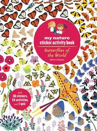 Butterflies of the World : My Nature Sticker Activity Book eyelike