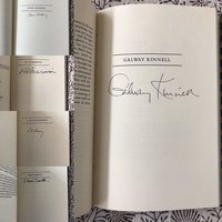 Apparitions: Poems by John Ashbery, Galway Kinnell, W.S. Merwin, L.M. Rosenberg, and Dave Smith and signed by each of the poets