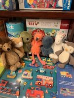 Book Bundle: Kid's Board (with small plush)