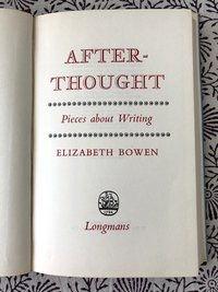 Afterthought: Pieces About Writing (USED)
