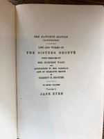 Life and Works of The Sisters Bronte, with prefaces by Mrs. Humphry Ward.....in seven volumes, Haworth Edition (USED)