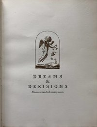 Dreams & Derisions (Signed by Rockwell Kent)