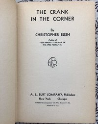 Crank In The Corner
