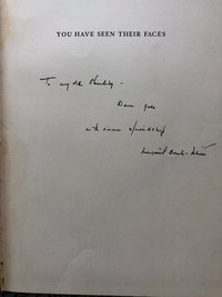 You Have Seen Their Faces (Inscribed by Margaret Bourke-White) (USED)