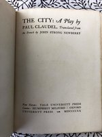 The City: A Play (USED)