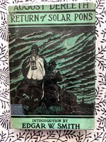 Return of Solar Pons (Signed 1st edition)