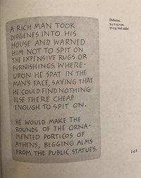 Diogenes  Defictions