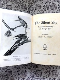 Silent Sky: The Incredible Extinction of The Passenger Pigeon (Signed 1st edition)