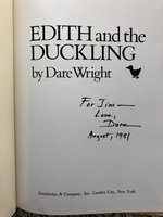 Edith  and  the  Duckling  (Signed)