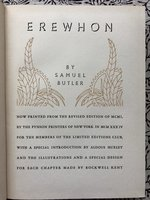 Erewhon (Limited Editions Club) (USED)
