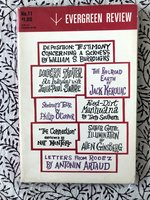 Evergreen Review, Volume 4, Number 11, January-February 1960: works by William S. Burroughs, Jack Kerouac, Allen Ginsberg, Jean-Paul Sartre, et al.
