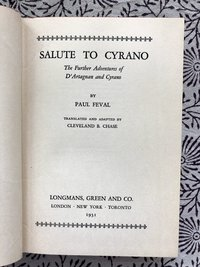 Salute to Cyrano: The Further Adventures of D'Artagnan and Cyrano (USED)