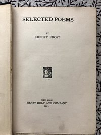 Selected Poems by Robert Frost (USED)