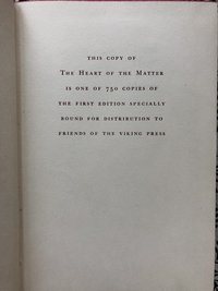 The Heart of the Matter (1st edition)
