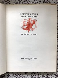 Between Wars and Other Poems