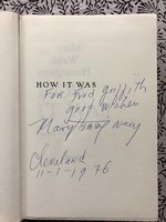 How It Was (Signed 1st edition)