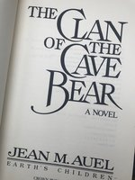 Clan of the Cave Bear (1st Ed)