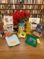 Book Bundle: Kid's Little Golden Books (with small plush)
