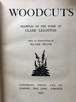 Woodcuts: Examples of the Work of Clare Leighton (Signed Limited edition) (USED)