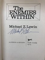 The Enemies Within (Signed 1st edition)