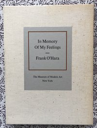 In Memory of My Feelings: A Selection of Poems (USED)