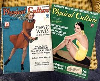Physical  Culture:  The  Personal  Problem  Magazine  (2  issues:  December  1934,  April  1938)
