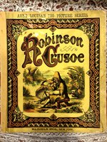 Cinderella & Robinson Crusoe (Two books in the Aunt Louisa Series) (USED)